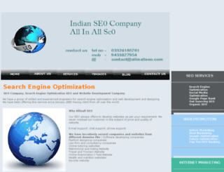 allinallseo.com screenshot