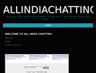 allindiachatting.com screenshot