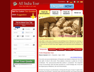 allindiatour.com screenshot