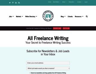 allindiewriters.com screenshot