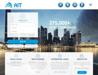 allintravel.com screenshot