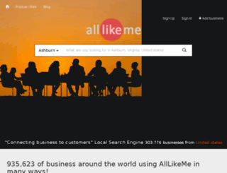alllikeme.in screenshot