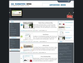 allmarketingsites.com screenshot