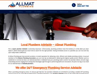 allmatplumbing.com.au screenshot