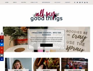 allmygoodthings.com screenshot