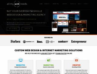 allmywebneeds.com screenshot