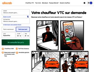 allocab.com screenshot
