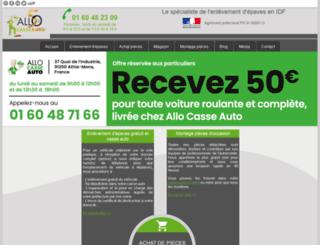 allocasseauto.com screenshot