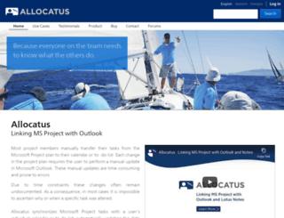 allocatus.com screenshot
