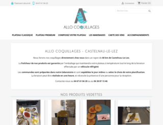 allocoquillages.com screenshot