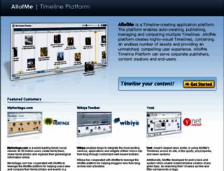 allofme.com screenshot