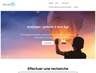 alloleciel.fr screenshot