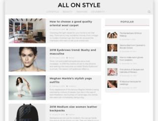 allonstyle.com screenshot