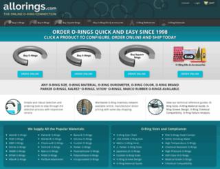 allorings.com screenshot