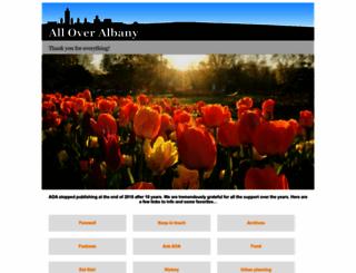 alloveralbany.com screenshot
