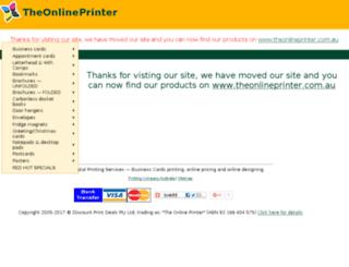 allprinting.com.au screenshot