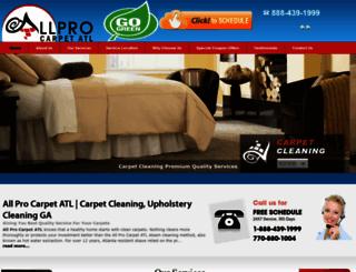 allprocarpetatl.com screenshot