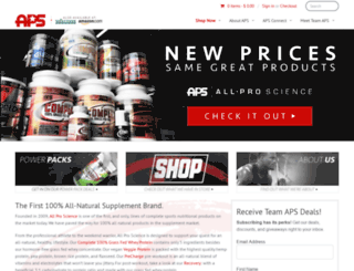 allproscience.com screenshot