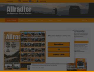 allradler.com screenshot