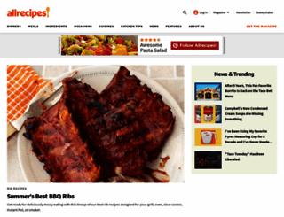 allrecipes.com.au screenshot
