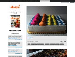 allrecipes.tumblr.com screenshot