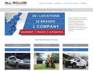 allroads.com screenshot