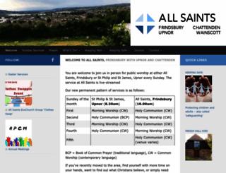 allsaintsfrindsbury.co.uk screenshot