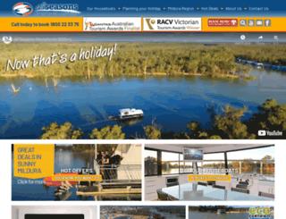 allseasonshouseboats.com.au screenshot