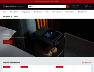 allsecurityequipment.com screenshot