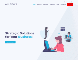 allsewa.com screenshot