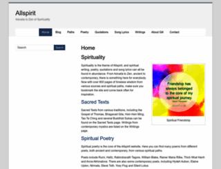 allspirit.co.uk screenshot