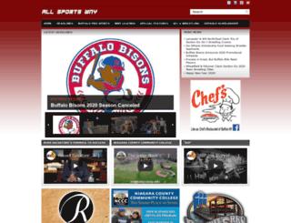 allsportswny.com screenshot