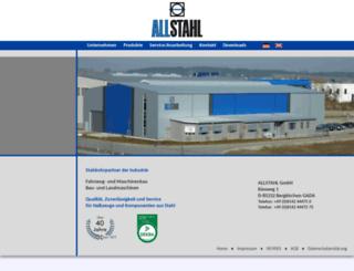allstahl.com screenshot