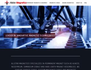 allstarmagnetics.com screenshot