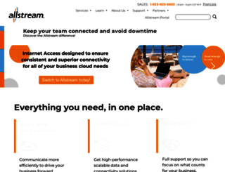 allstream.com screenshot