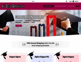 allstylegreek.com screenshot