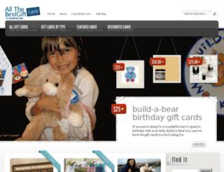 allthebestgiftcards.com screenshot