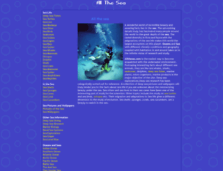 allthesea.com screenshot