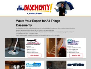 allthingsbasementy.com screenshot