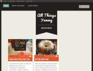 allthingsyummy.blog.com screenshot