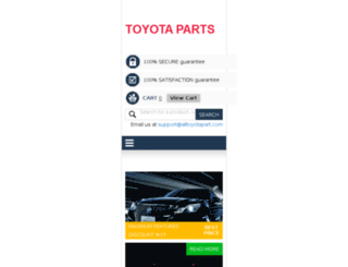 alltoyotapart.com screenshot