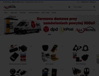 alltronix.pl screenshot