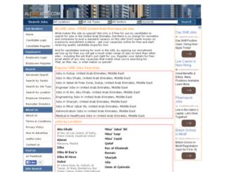 alluaejobs.com screenshot