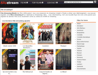 allustream.com screenshot