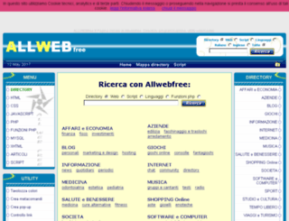 allwebfree.it screenshot