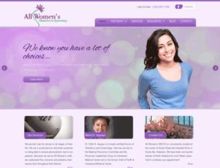 allwomensobgyn.com screenshot