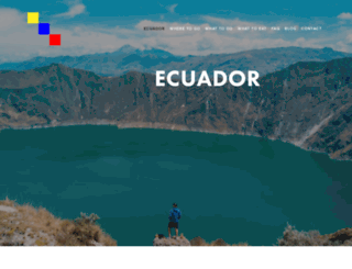 allyouneedisecuador.travel screenshot