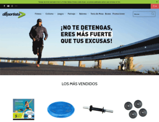 almaceneldeportista.com screenshot