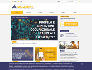 almalaurea.it screenshot
