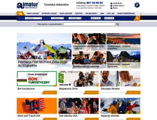 almatur.pl screenshot